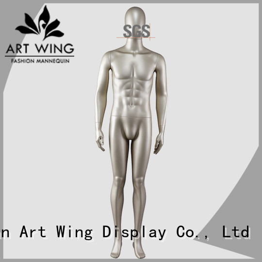 Art Wing reliable gold mannequin directly sale for shop