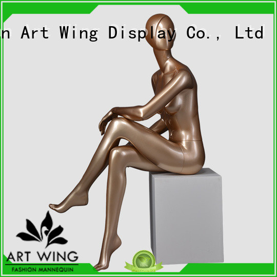 Art Wing female sitting female mannequin with good price for modelling