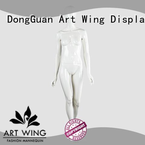 Art Wing stable white female mannequin supplier for supermarket