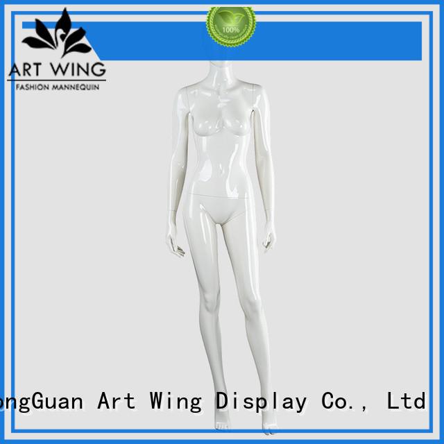sturdy white full body female mannequin dmaf wholesale for supermarket