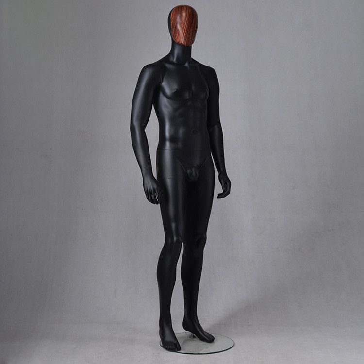 IAN-4 Full body black brazilian mannequin body for window display