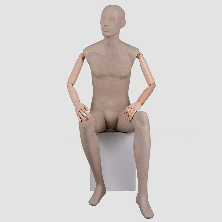 DFM-WPT-E Articulated Male Mannequin for cloth display
