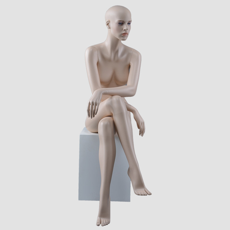 RMF-1 Sexy likelife reaslistic female mannequin sitting for clothing display