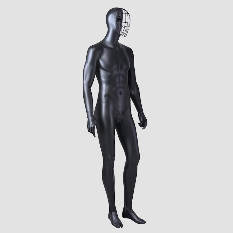 YSM-8 Sexy lifelike male mannequins fiberglass vintage  black male mannequin