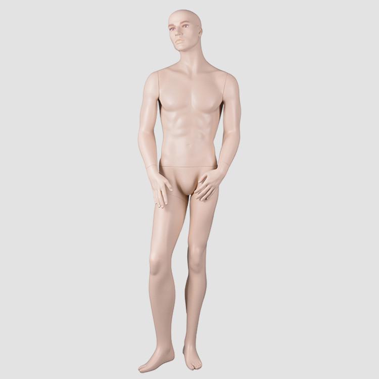 CM-28 Custom realisct make-up mannequin male full body fashion design for display