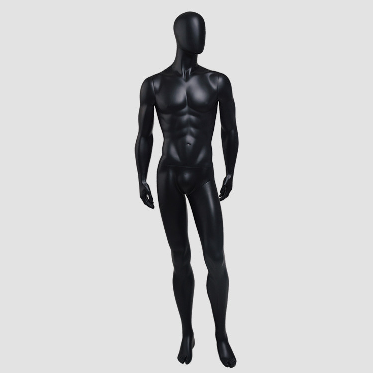 CM-38 Customized fashion model mannequin black male model mannequin