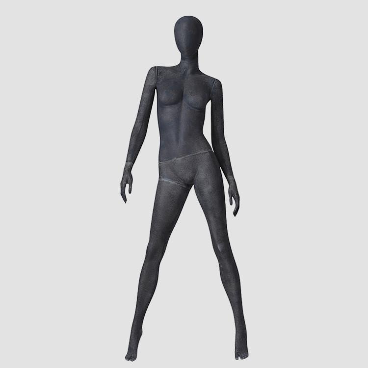 MPF01 Fashion design vintage female mannequin standing ladies dress display mannequin