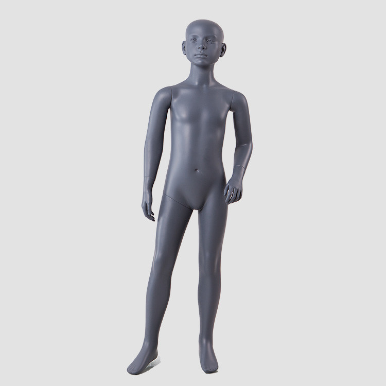 BC-KIDS-F Hot sale black children mannequin full body fiberglass mannequin for child clothes