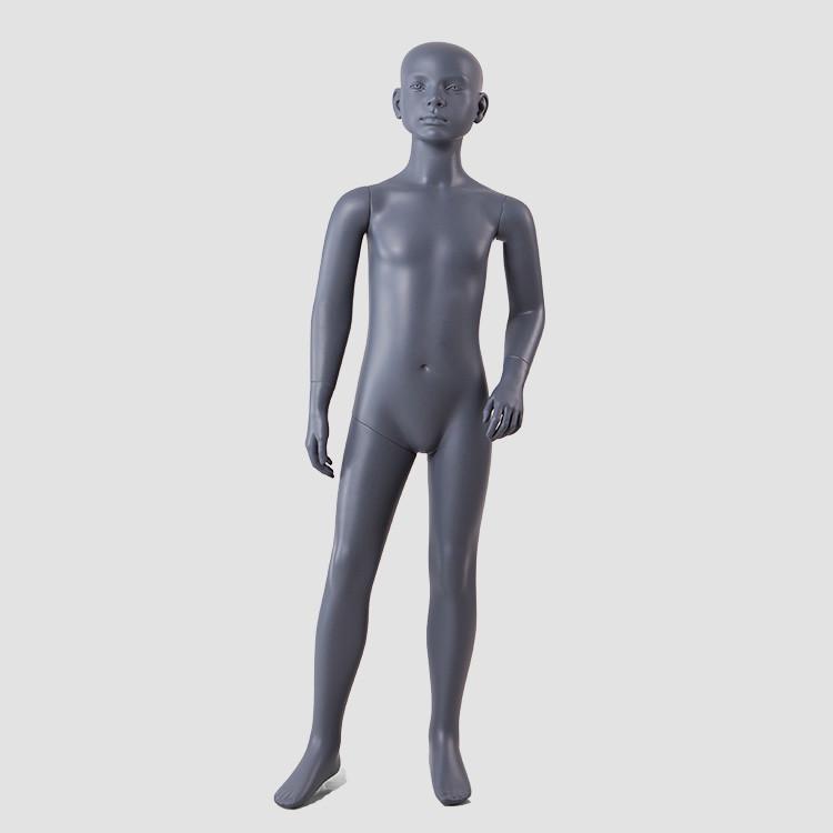 BC-KIDS-F Hot sale black children mannequin full body fiberglass mannequin for child clothes