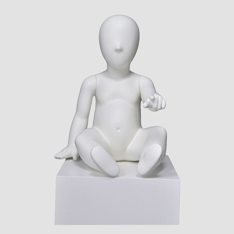 PRIM-226 Lovely kids baby sitting mannequin for display