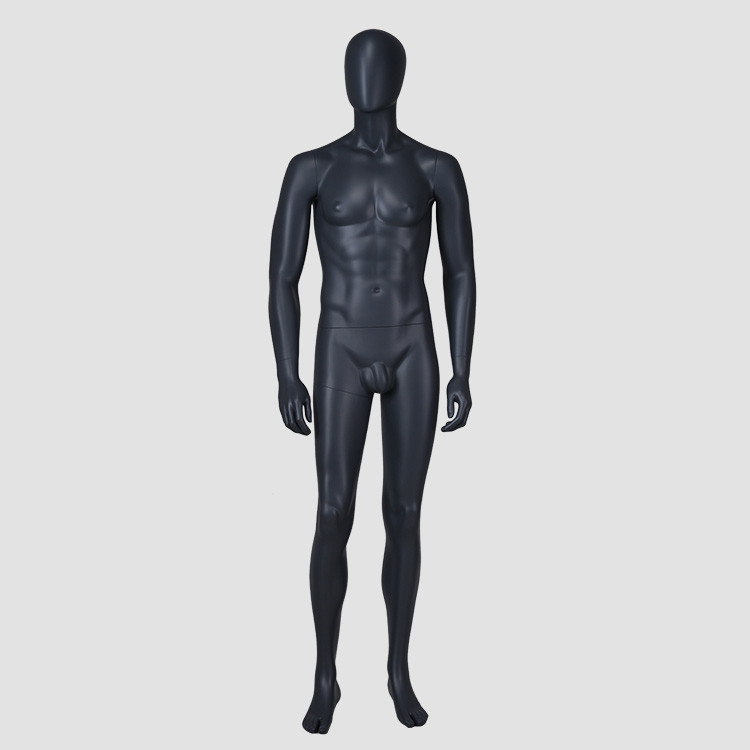 IAN-4 New style window display full body black male mannequin