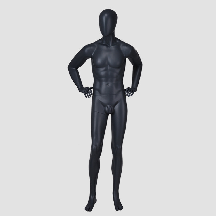 IAN-6 Fiberglass fashion male mannequin full body nude model for shop window