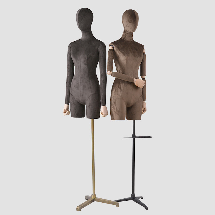 UP-C wrapping  Female Half Body Mannequin Customization