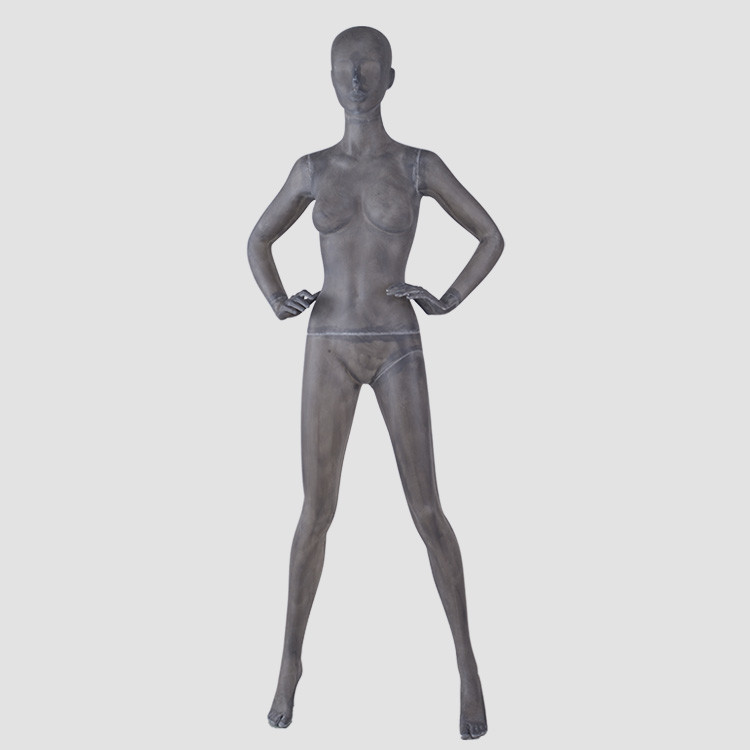 TG-03 Fashion body woman mannequin full body black female for clothes display