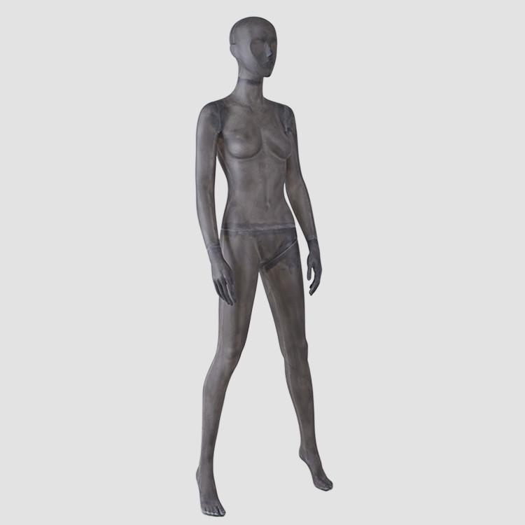 TG-01 Resin color body mannequins female black fiberglass mannequin