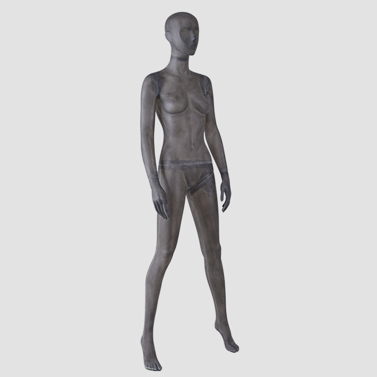TG-01 Resin color body mannequins female black fiberglass mannequin
