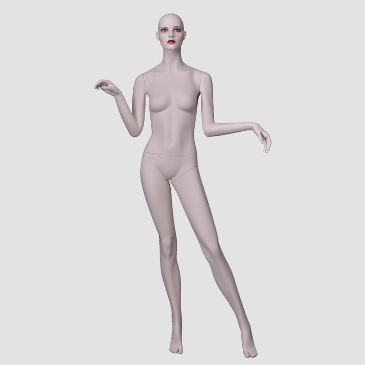 NF-14 Full body skin color big breast woman	mannequin for windown display