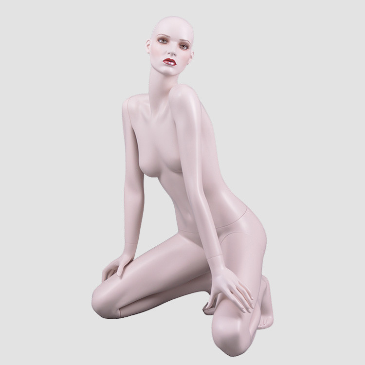 NF-40 Keening down sexy big breast female mannequin for lingerie display