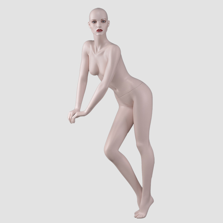 NF-11 Sexy big bust female mannequin with makeup head for lingerie display