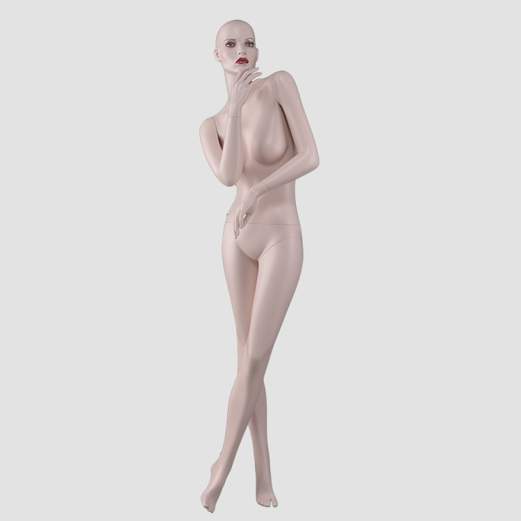NF-11 Fashionable female sex mannequin skin color for dress display