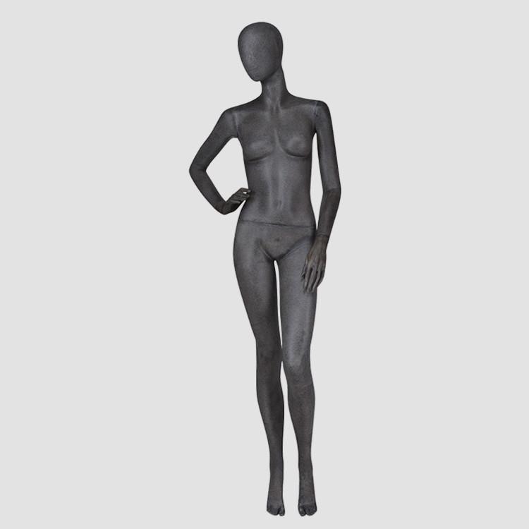 KF-1 Vintage black female mannequin full female body suit dummy on sale