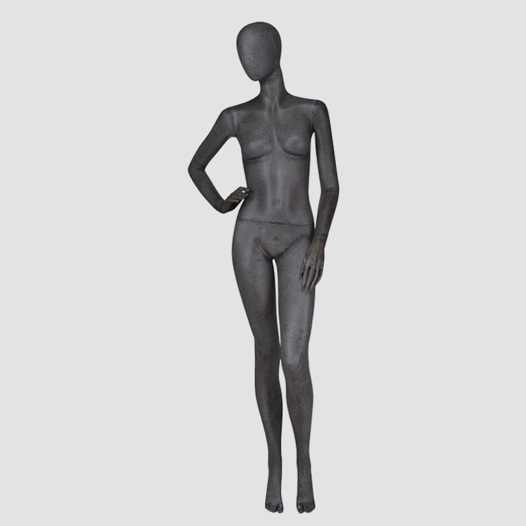 KF-1 Vintage black female mannequin full female body suit dummy on sale
