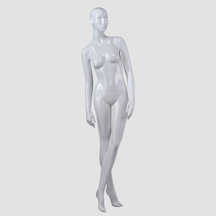KF-05 Fashion design standing mannequin female glossy for window display