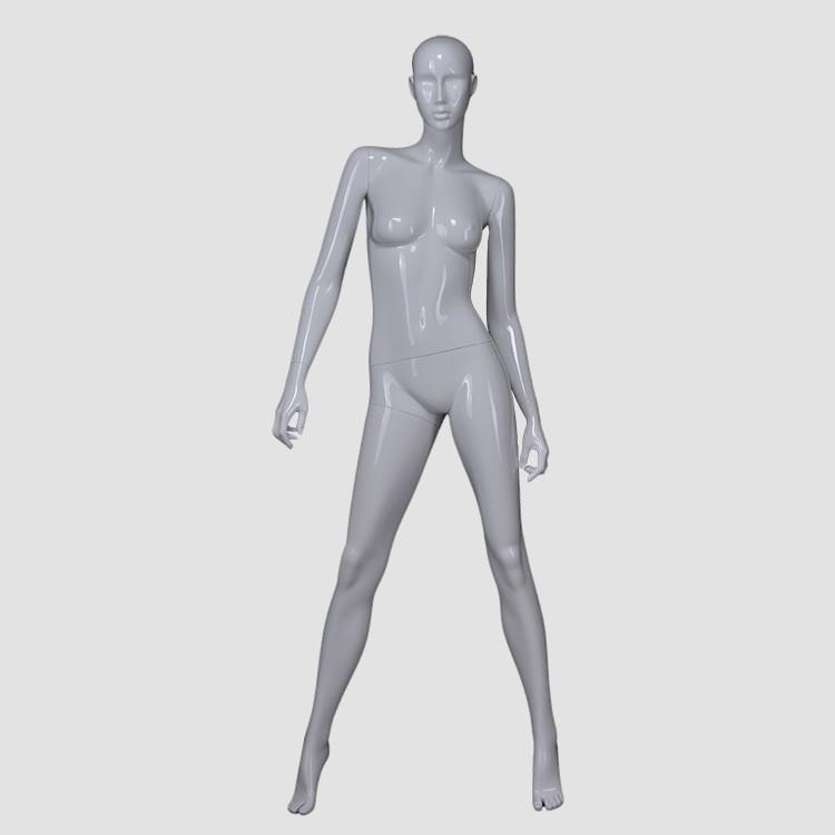 KF-06 Fashion fiberglass female mannequin full body clothes dummy