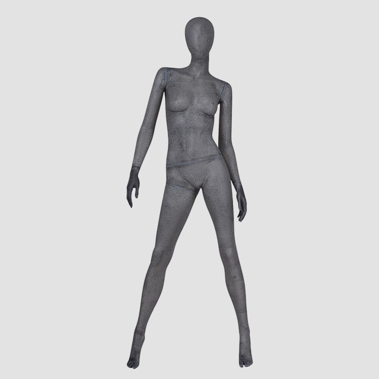 KF-06 Resin color abstract women dummy mannequin for window display