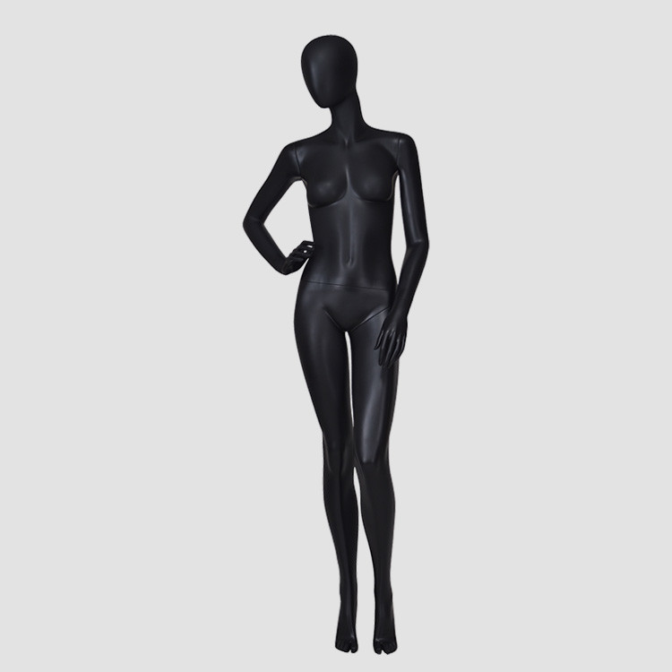 KF-10 African style matte black mannequin women for sale