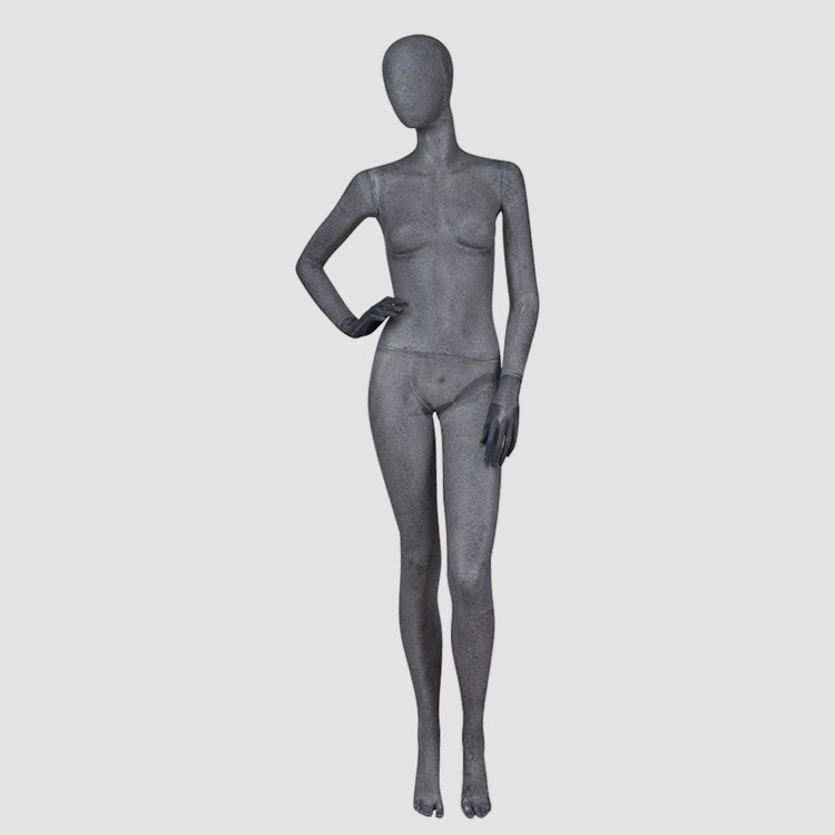 KF-10 Vintage style resin color female mannequin for museum room window display
