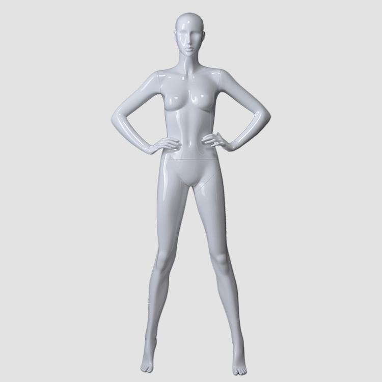 KF-13 Full body stading American mannequin female for shop display