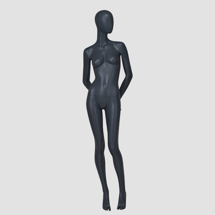 F-2203AH High fashion mannequins black abstract full body nude girl mannequin