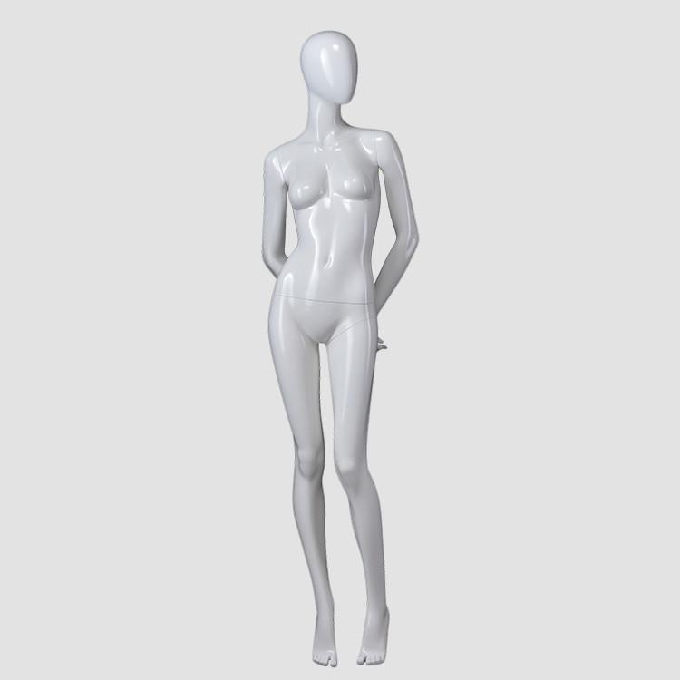 F-2203-AH  female full body mannequins white female torso mannequin