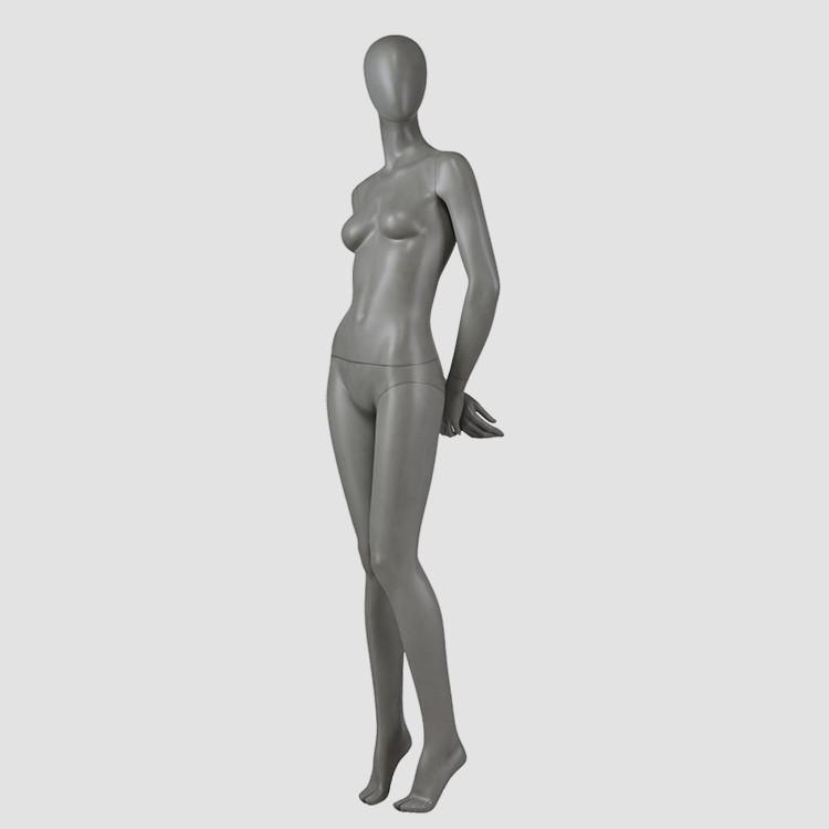 F-2203-AH Grey color female full body mannequin for garment display