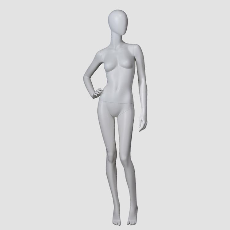 F-22031-AH Full body egg head female mannequin minikin china