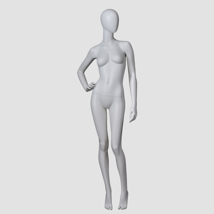 F-22031-AH Full body egg head female mannequin minikin china