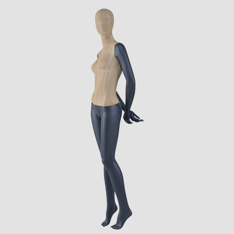 F-2203 Factory wholesale black women mannequins full body clothes display model
