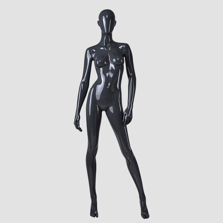 F-2204-AH Young female mannequin model black full size mannequins