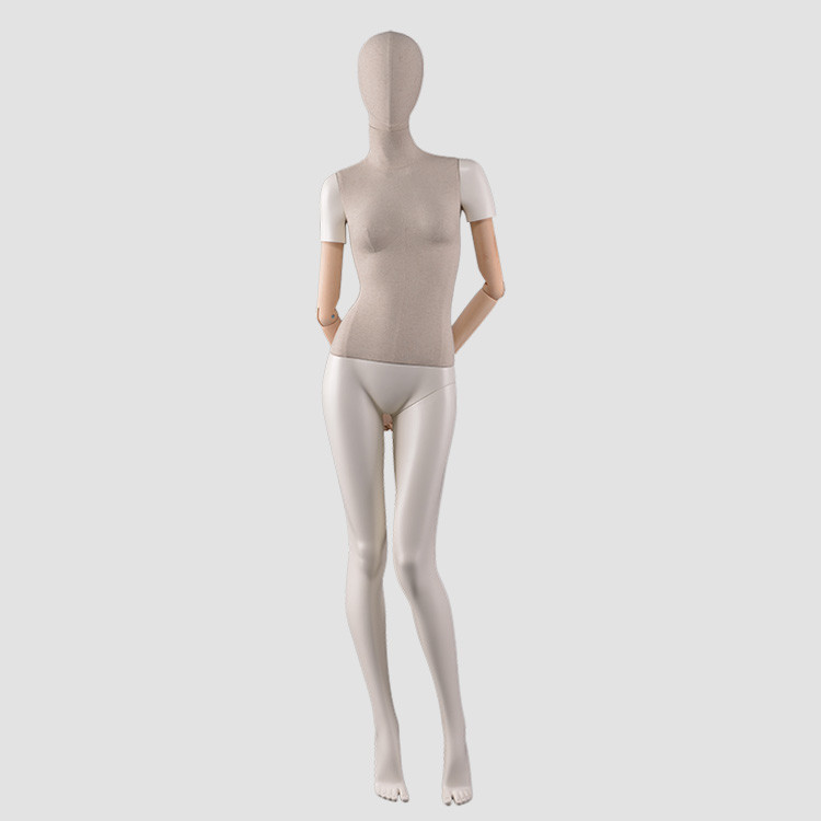 F-2206 Fiberglass garment dispaly mannequin female used for clothes store