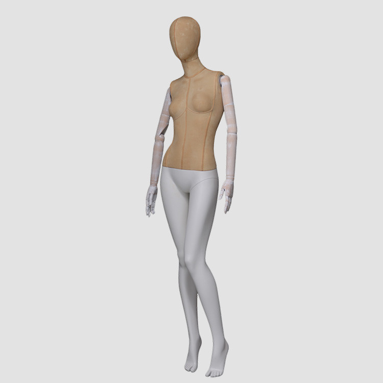 F-2206-AH Full body scarf display female mannequins wholesale