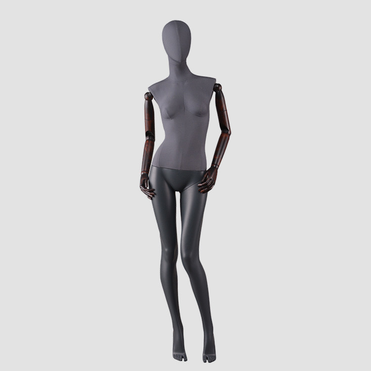 F-2206-AH Full body fabric finished dress mannequin wholesale mannequins