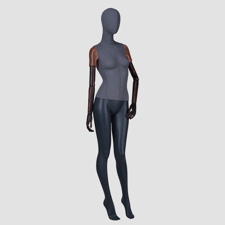 F-2206-AH whole body sexy female mannequin dress from display mannequin with adjustable arms