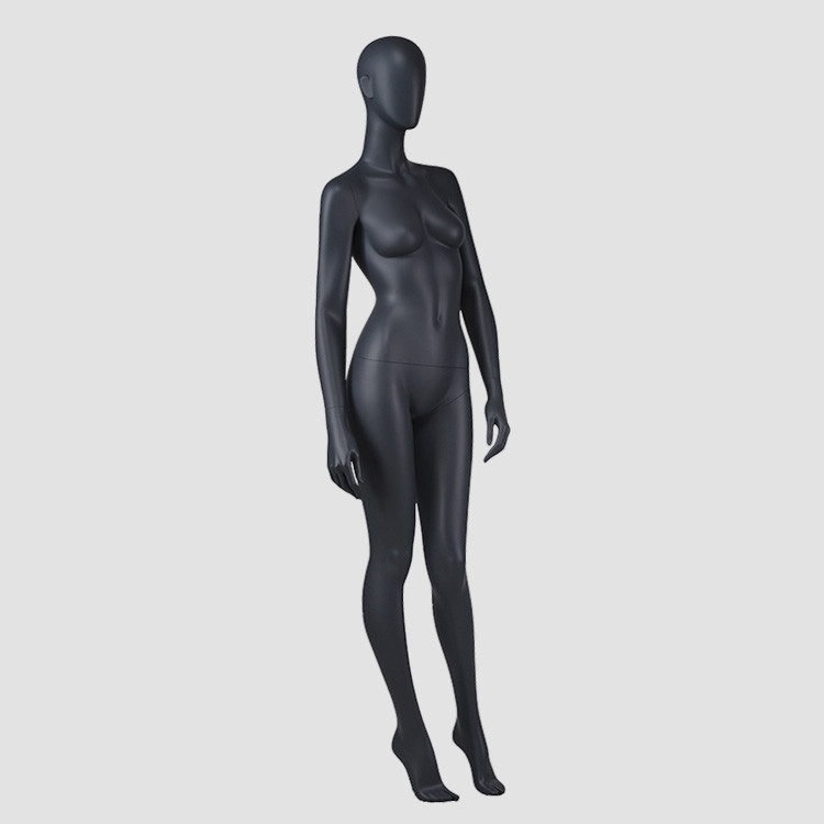 F-2206-AH New design black female mannequin abstract female high quality