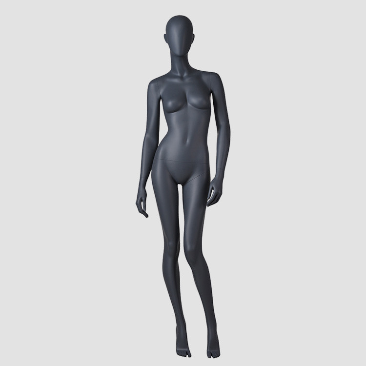 F-2206-AH Sexy black female mannequin standing female mannequins