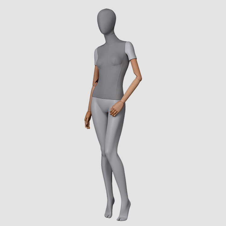 F-2206-AH Egg head whole body female mannequin store display mannequin