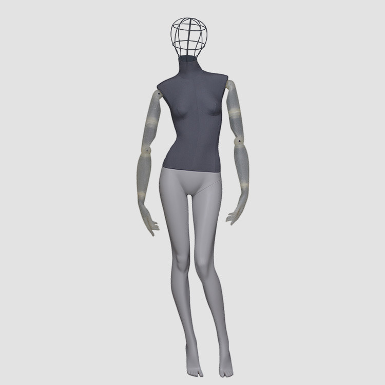 F-2206 High quality wire head mannequin full body clothes mannequin display