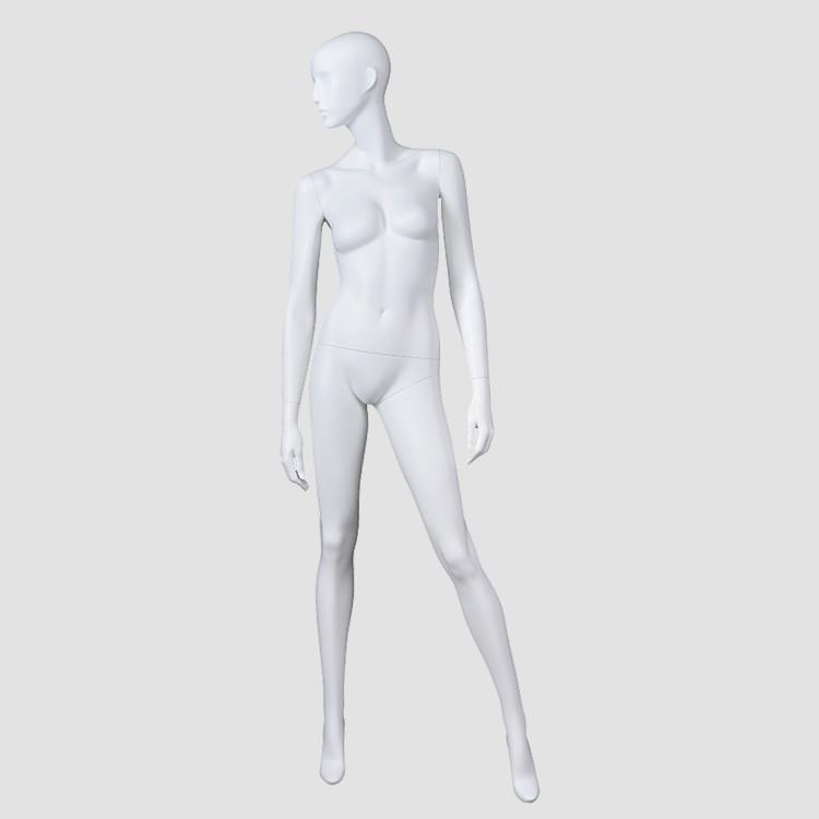 BW-2 Female full body fiberglass mannequin torso