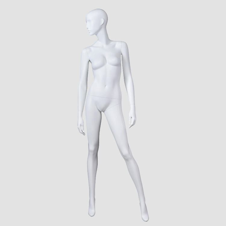 BW-2 Female full body fiberglass mannequin torso