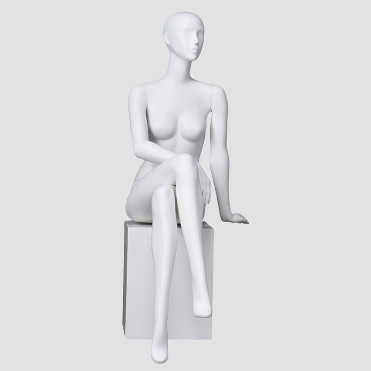 BW-5 Sitting maniquies womens whole body female mannequin